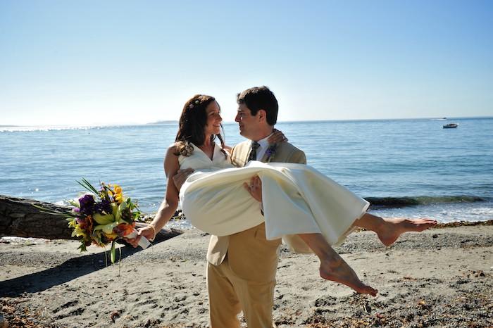 Brian Smith and Kate Meinig – Lummi Island Wedding Photography