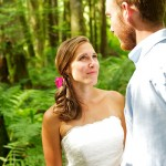 Curious Imagery Weddings - Mark and Erika in Forest